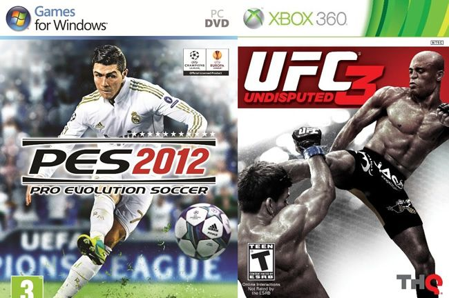 Win a copy of UFC Undisputed 3 for Xbox and PES 2012 for PC - just tell us who your favourite UFC fighter is. #competition