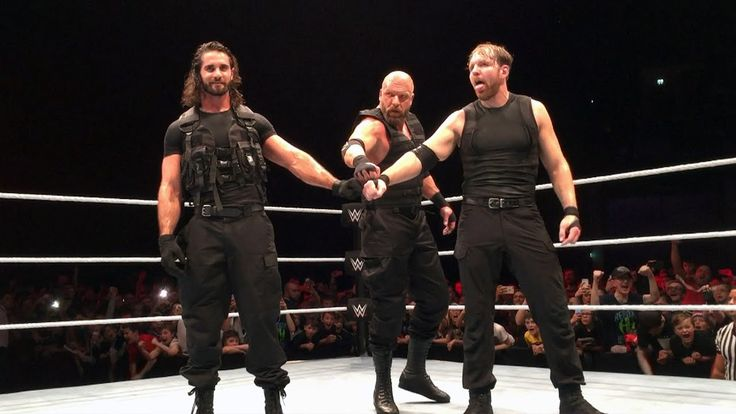 The Shield recruit Triple H at WWE Live Event in Glasgow: Exclusive, Nov...