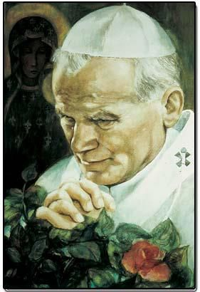 John Paul II Danuta Muszynska Zamorska