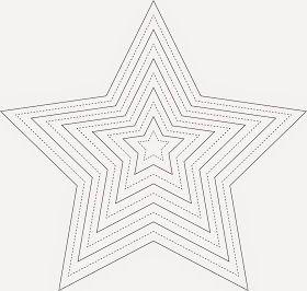 schnabelinas welt: sternenhimmel   vorlage stern, sterne