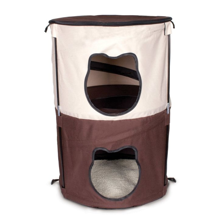 Ware Manufacturing Pop Up 2 Level Kitty Condo - 11031