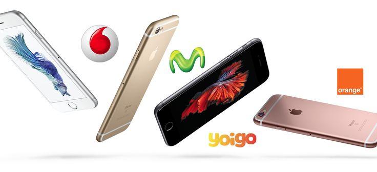 Precios del iPhone 6s en las principales operadoras españolas - http://www.actualidadiphone.com/precios-del-iphone-6s-en-las-principales-operadoras-espanolas/