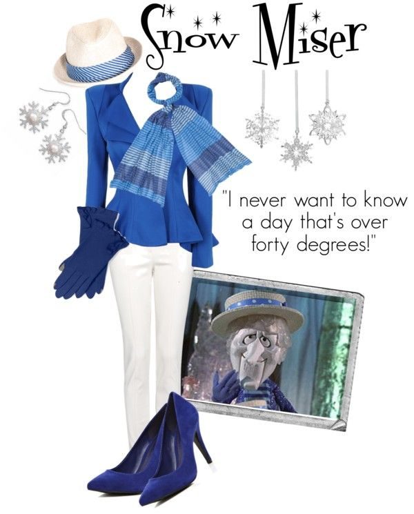 """""""They Call Me Snow Miser"""" by unusualsidekick on Polyvore"""