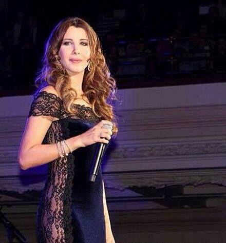 "London - Nancy Ajram wears the Azzaro dress ""Bravo Baratin"" from the Intemporelle collection  #azzaro #nancyajram"