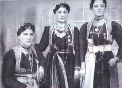 Αρχόντισσες της Κλεισούρας (Καστοριά), αρχές 20ου αιώνα