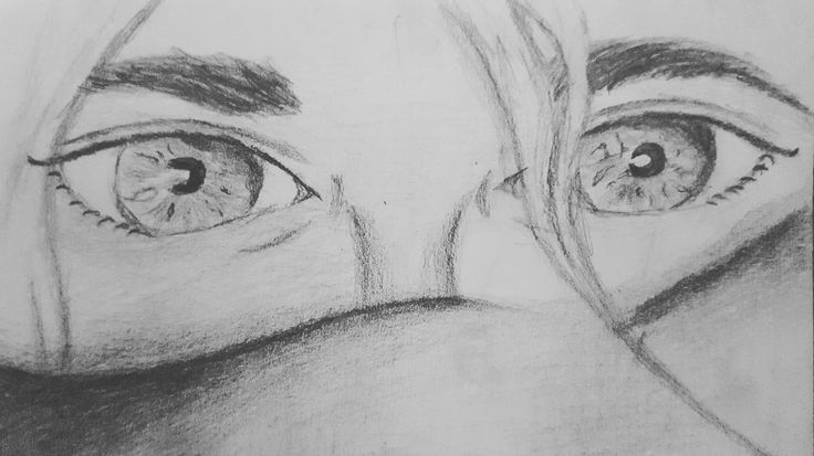 Eyes drawing.