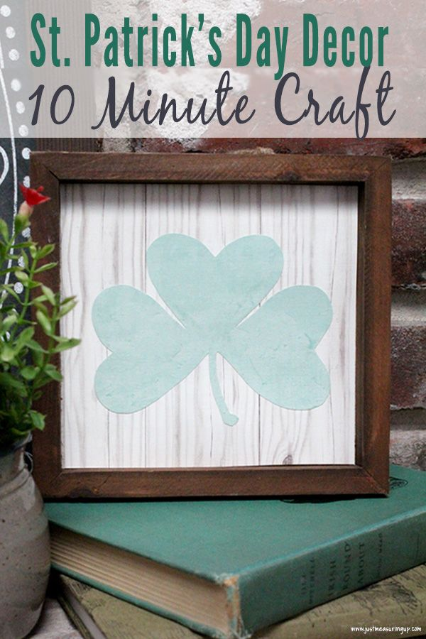 St Patrick S Day Diy Decor Craft That You Can Make In Minutes