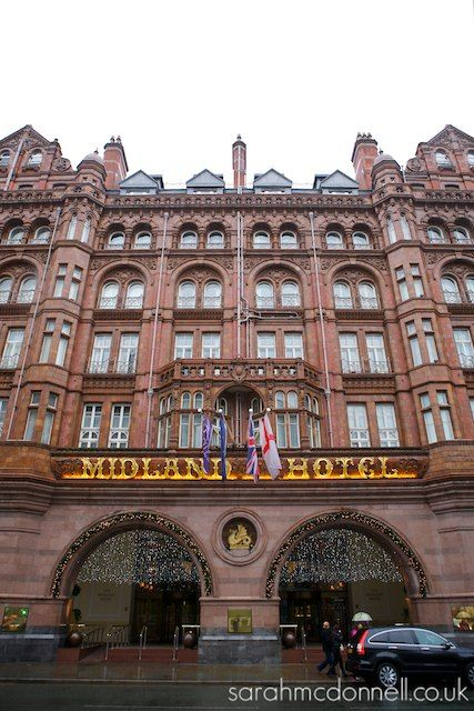 Facade of The Midland Hotel,Manchester. It is beautiful .