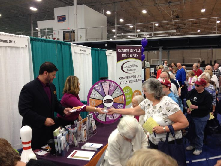 Smilebuilderz at Spooky Nook's 50plus EXPO! Stop by, spin the wheel & win a prize! #Smilebuilderz #DentistryReimagined #LancasterPA #DentalLife #Dentistry #ExpoLife