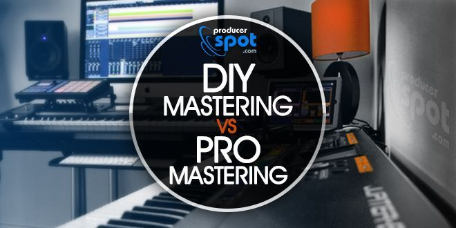 DIY Audio Mastering Vs. Professional Mastering | ProducerSpot