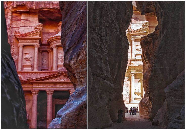 Siq Petra Jordan Tourism