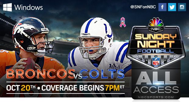 SNF All Access | Sunday Night Football | NBC Sports