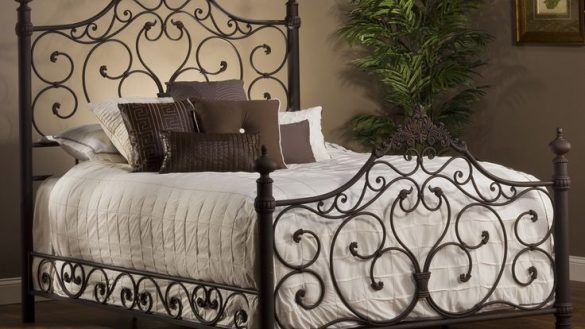 Bedroom New Cream Metal Headboard King Size 77 About Remodel