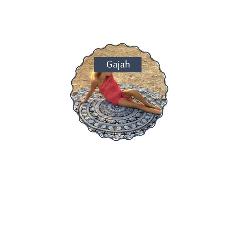 Roundie Throws (Gajah) by KateStClaireLivingCo on Etsy