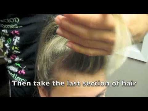 Texas Cheer Hair Tutorial - Perfect for Kinsley hair too!