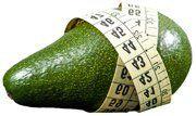 awesome Zijn Avocado's dik makend of goed voor Gewichtsverlies?Meetlint rond een avocado