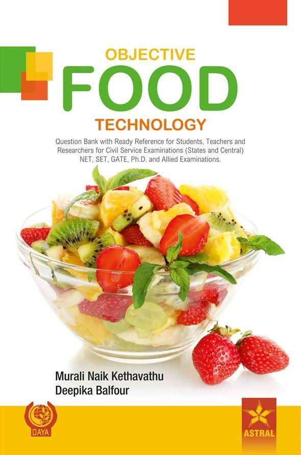 Objective Food Technology; JRF, SRF, ARS, NET (PB)