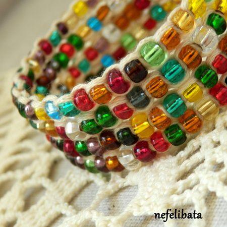 Rainbow Is a Lucky Sign ° boho ° boho chic ° boheme ° hippies ° gypsy ° ethno ° jewelry ° freedom ° joy ° handmade