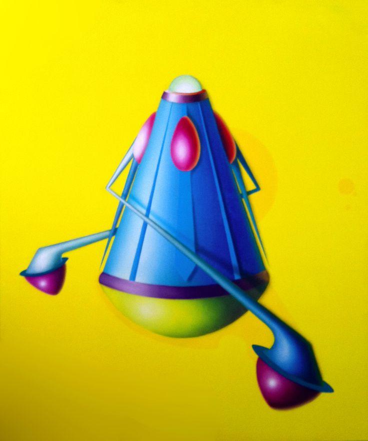 Eclipse, 2011, olio e acrilico su tela, 120x100 cm - Ignazio Mazzeo #art #painting #ignaziomazzeo #colours #nature