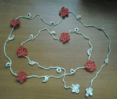 Collana Fiori e Cerchi - Flowers and rings