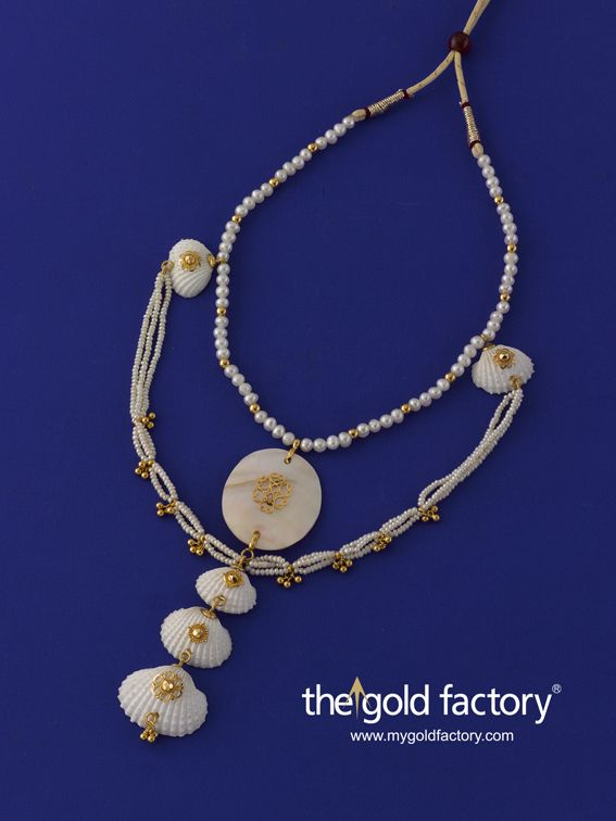Gold Factory Dhanteras Special Creative Jewellery Season's special Ocean's Jewels with a touch of pure 22K gold - GF's gold jewellery with a difference.