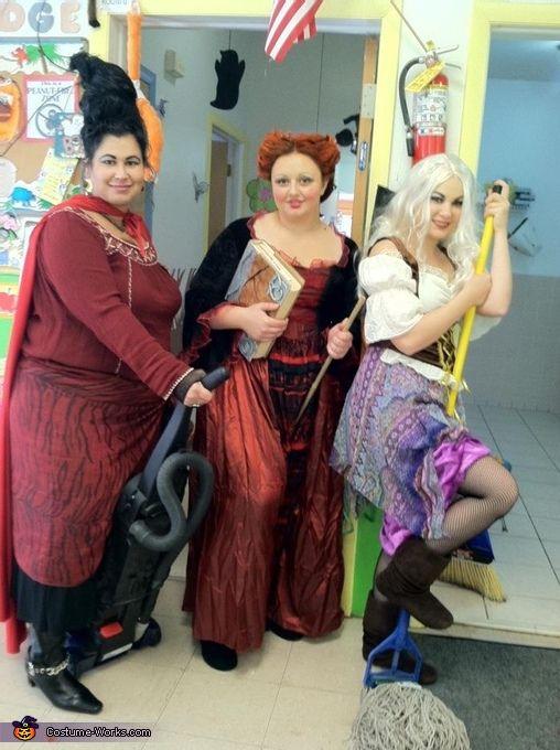 Sanderson Sisters - 2012 Halloween Costume Contest