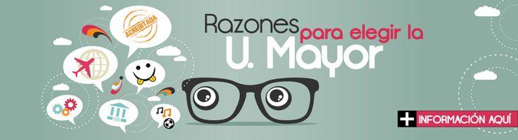 Conoce las 10 Razones para elegir la Universidad Mayor  #estudiantes #secundarios #UMayor #colegios