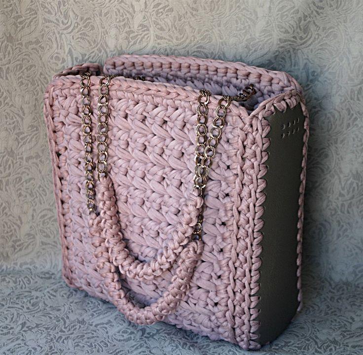 Free Crochet Pattern Mirjanas Cesena Citybag | Hoooked
