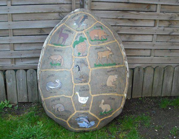la carapace de tortue horoscope amérindien de gazelle qui marche loin jolie non