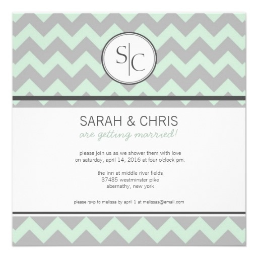 grey and mint bridal shower - Google Search