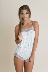 Dolores Teddy. Just arrived at Houppette and its the sweetest thing. definitely a must have.