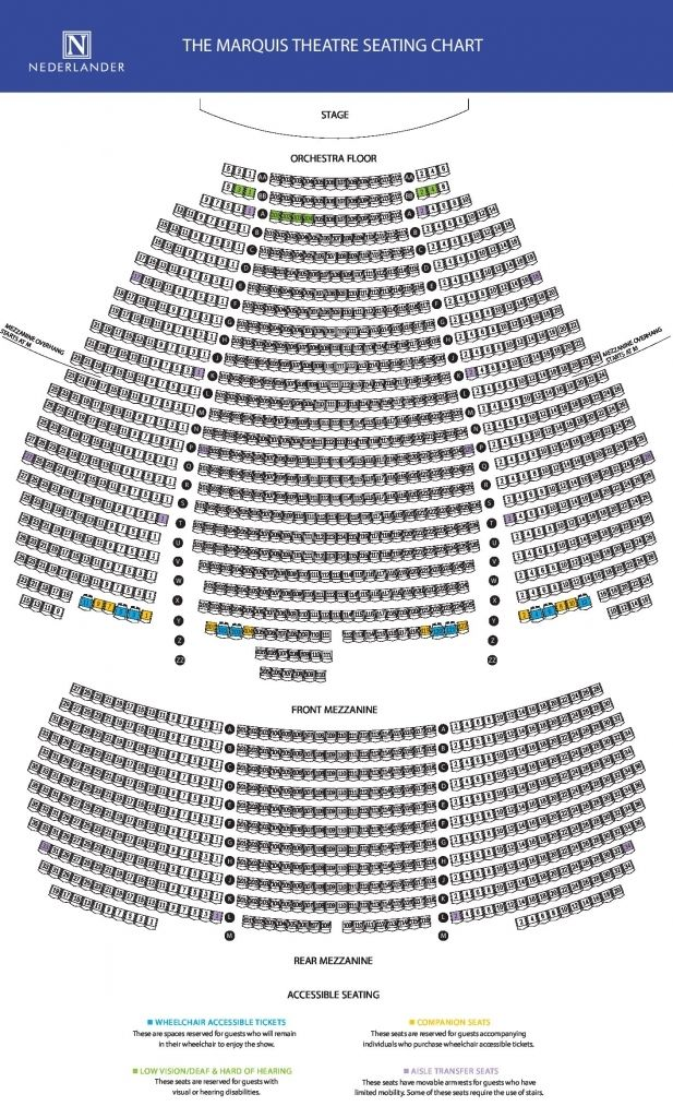 Brilliant Marquis Theatre Seating Chart Check More At Http Astheysawit Info Brilliant Marquis Theatre Seating Chart Seating Charts Theater Seating Seating