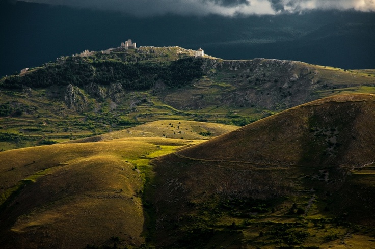 A view of Rocca Calascio