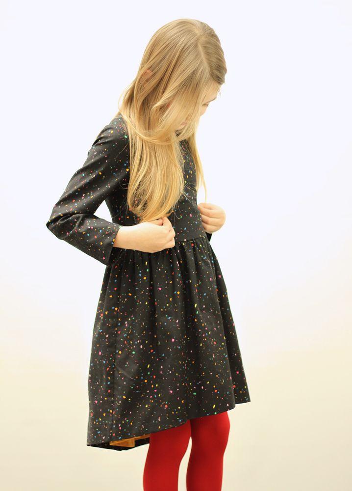 Dance dress black #motoreta #kids AW14 #lookbook