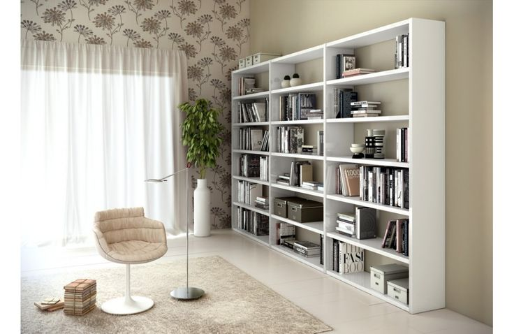 Grande biblioth que de salon moderne meuble de salon design meuble et can - Bibliotheque salon design ...
