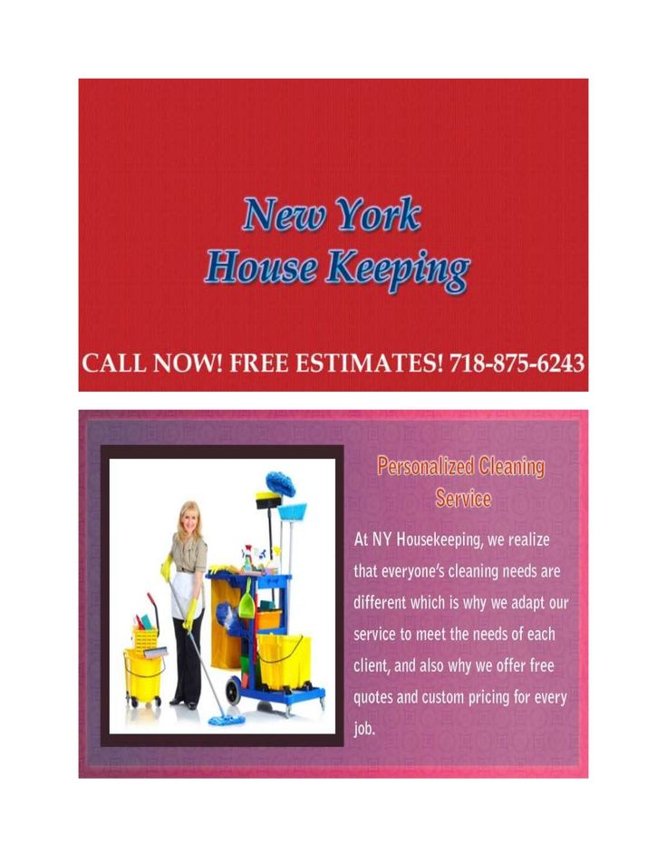 Housekeeping in New York has skilled improvement services and connected maintenance services by Latest ways for your home.