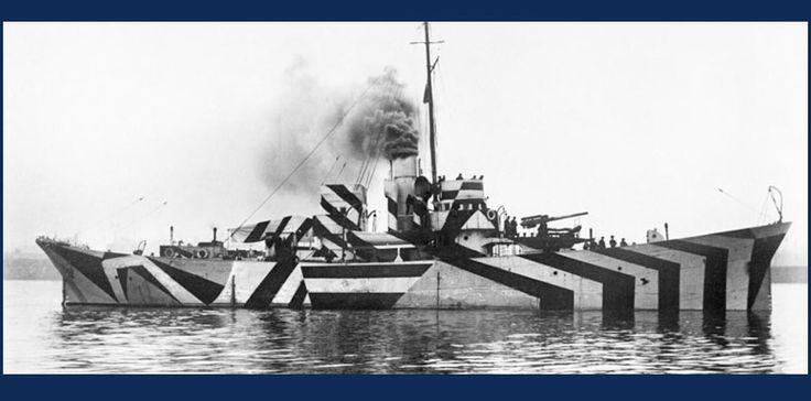 Razzle-Dazzle Ships - Camouflage in World War II - Visit Pearl Harbor