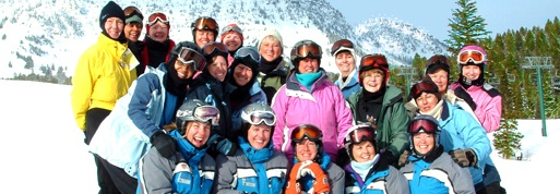 "AdventureWomen invites you to join us for a week-long skiing vacation for women with top downhill ski instruction. Ski the ""cold smoke"" powder and shush downhill – Montana style – at the most popular all-inclusive women's ski school in the country at Bridger Bowl near Bozeman, MT. Dubbed ""the adventure capital of the Northern Rockies"" and one of the world's best ski towns by National Geographic Adventure, Bozeman, MT, and Bridger Bowl are home for our spectacular week of downhill skiing."