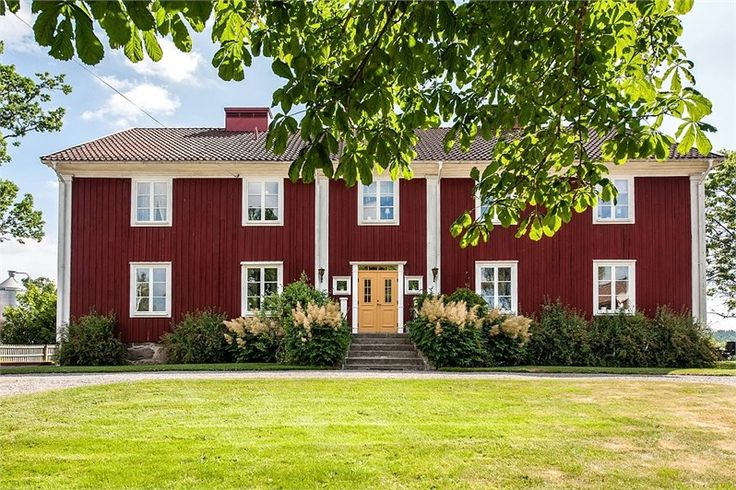 Old red timber house