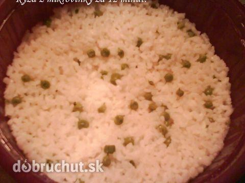 Fotorecept: Ryža z mikrovlnky za 12 minút
