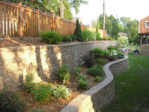 Best Backyard Retaining Walls Ideas On Pinterest Retaining