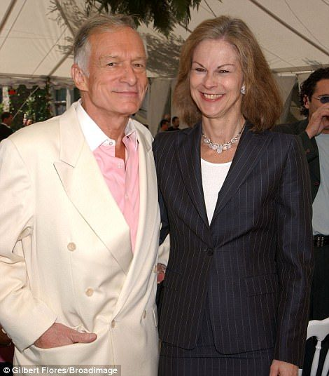He is also survived by daughter Christie Hefner (pictured), who was president of the compa...