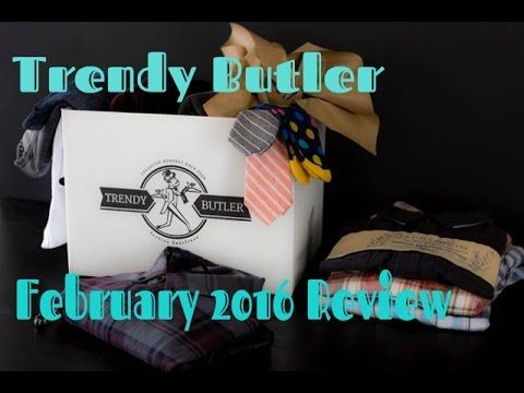 Trendy Butler Review February 2016 Monthly Subscription Box