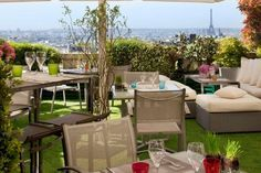 The 7th - 12 rue Joseph de Maistre, 75018 Paris - Some of the best views from the height of Montmartre. A well kep secret. Shhhhhhh.