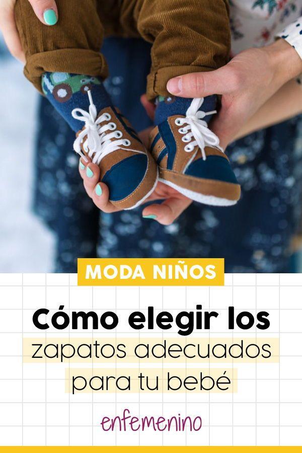 6b19fd11eb9 Toma nota de estos consejos para elegir los  zapatos de tu  bebé.
