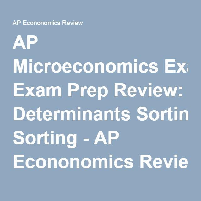 21 best ap microeconomics review images on pinterest economics ap microeconomics exam prep review determinants sorting ap econonomics review fandeluxe Image collections