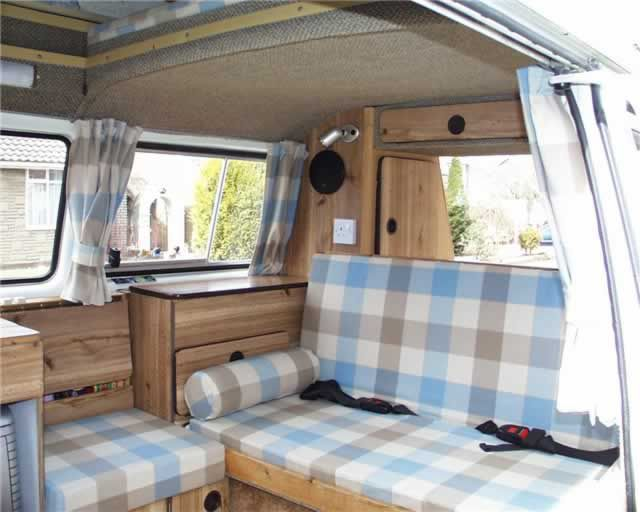 VW type 25 Vanagon AI Autohomes Kamper interior.  This the same interior my camper came with.