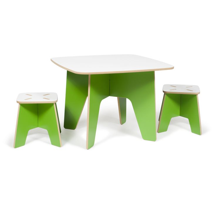 Kids Table and Stools, Modern Kids Furniture, Easy Assembly Furniture | Sprout