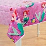 LIttle Mermaid Party Supplies: Table Cover Party Supplies Canada & Halloween Supplies Canada - Open A Party