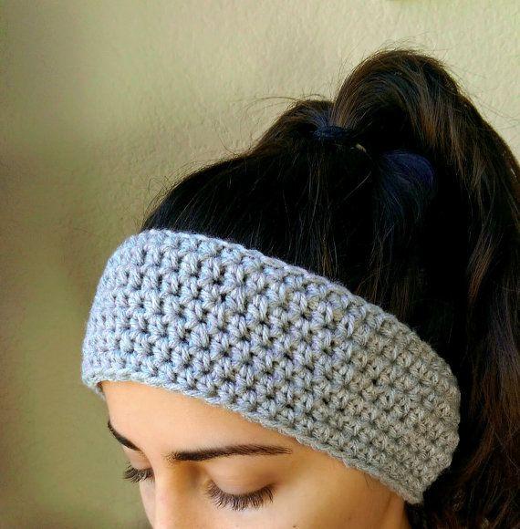Simple Crochet Ear Warmer Headband By Thesnugglery